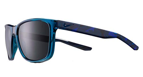 Nike EV1117-430 Endeavor Se Sunglasses Blue Force Frame Color, Dark Grey Lens Tint