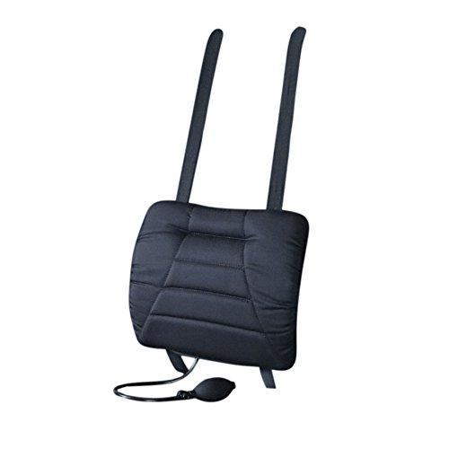 SITWELL Comfort Rückenkissen mit schwarzem Stoffbezug