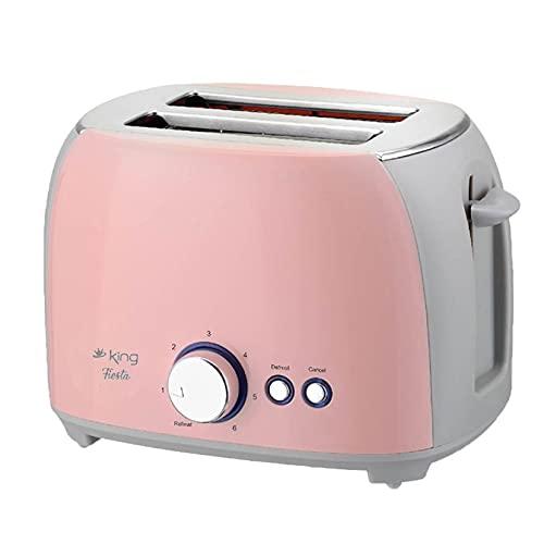 PC + Stainless SteelNew Multi-Function Home Automatic Breakfast Toaster800Wmattiertes wärmeisoliertes Edelstahlgehäuse...