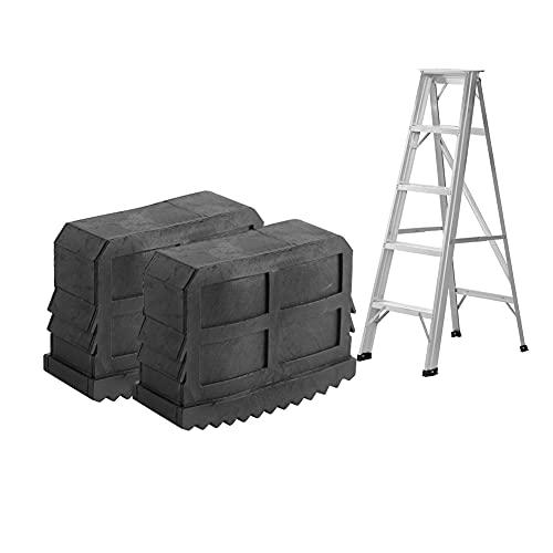 Universal pies de goma para escaleras de mano, Contera escalera antideslizante 2 Unidades