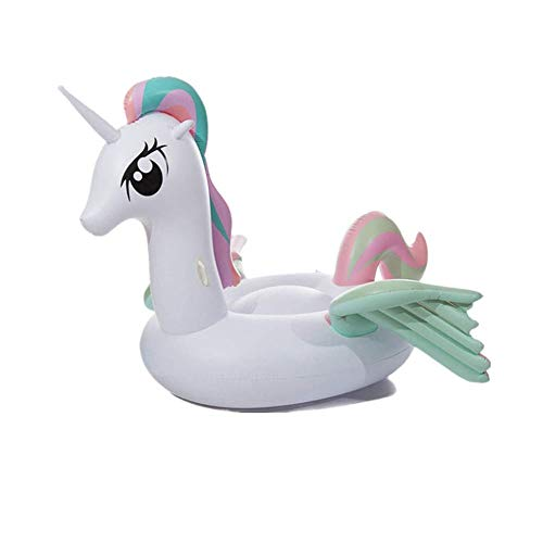 LKNJLL Piscina Flotante Inflable Fila for Adultos, ala de Vuelo Pony Monte Adulto, Agua Flotante Inflable Piscina olímpica