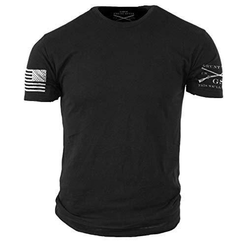 Grunt Style Basic Men's T-Shirt (X-Large, Black)