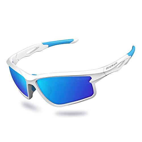 Polarized Sports Sunglasses for Men Women Cycling Running Driving Fishing Glasses