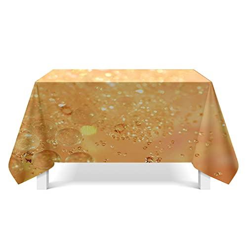 DSman Tovaglia Colore a Tinta Unita, Ottima per apparecchiare la tavola per Matrimoni, Tessuto di Struttura di Cristallo