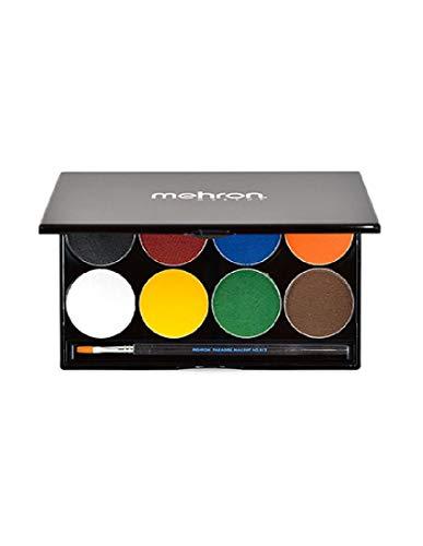 of mehron face paints Mehron Paradise Basic Face Paint Palettes, 8 Colors