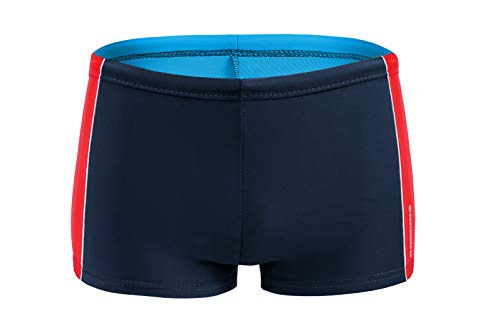 Sesto Senso Pantaloncini da Bagno Ragazzi Costume Boxer Calzoncini Swim Shorts BD 633 XXL Nero