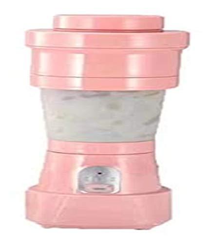 LHAHGLY Lanzamiento de Jugo Plegable Portátil USB Juicer Juicer Máquina de Mezcla Smoothies Baby Food Fruit Blender Herramienta de Cocina exprimidor electrico (Color : Pink)
