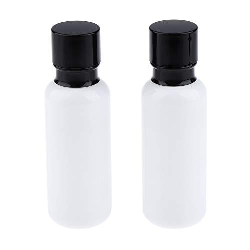 Bonarty Viaje Cosmético de La Botella del Espray de La Bomba de La Botella Vacía Portátil Recargable de Cristal - 120ml, Individual
