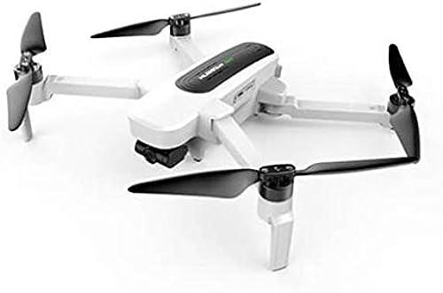 Yooshen Hubsan H117S Zino Drohne mit Kamera 4K live übertragung WiFi FPV RC Dreiachsiger Gimbal mit 2 Batterien, One Key Start Landung Pocket Drohne Kopflos-Modus (Weiß)