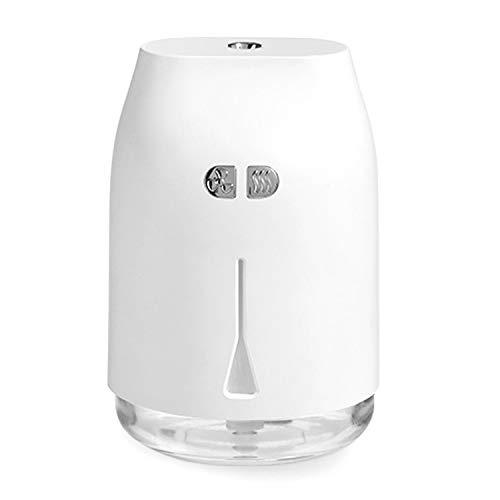 SODIAL Humidificador Blanco Instrumento de Belleza Hidratante PortáTil con Aerosol Grande en Nombre del Humidificador de Dormitorio del AutomóVil