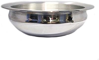 King International Metal Traditional Aluminium Walled Dishwasher Safe, 26cm, Silver