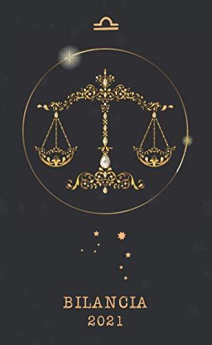 Bilancia 2021: Agenda settimanale 2021 | Astrologia Segno zodiacale | Piccolo formato (10x16,5 cm) | Da notare tutti gli appuntamenti da gennaio a dicembre 2021 | 112 pagine | Italiana