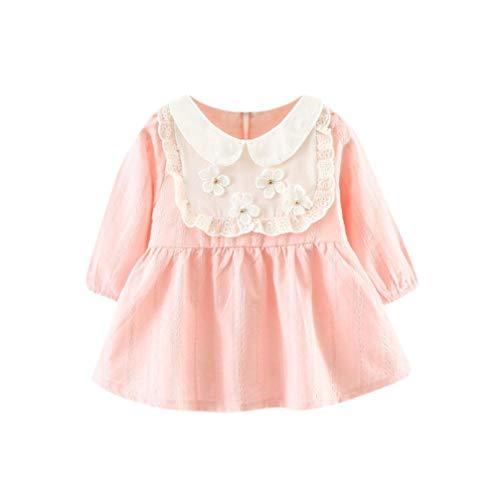 Baby meisjes lange mouwen bloemen lappendeken jurken prinses schattig peuter 0 24 maanden Fashion Completi Fashion 2019 dames kleding