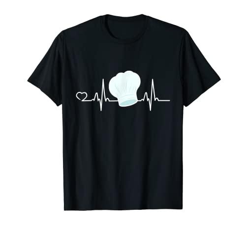 Trabajo de diseño de chef de cocinero gráfico de cocina Camiseta