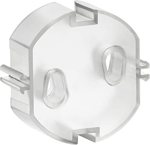 REER 2907.9enchufe tapa, transparente