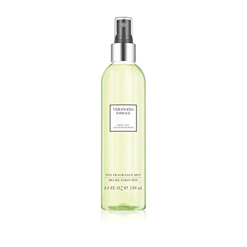 Vera Wang Embrace Body Mist Spray for Women, Green Tea & Pear Blossom, 8 Fluid Oz