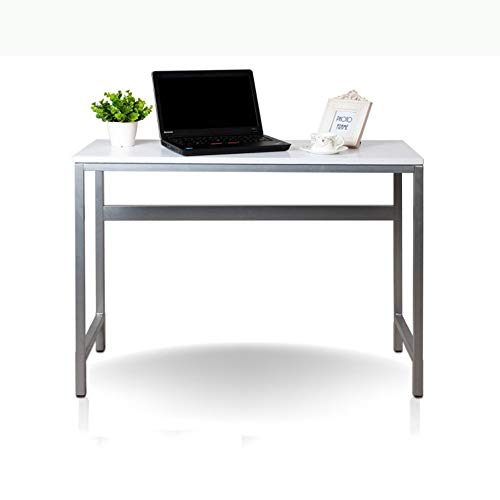 Klapptisch verstellbar Laptop-Tisch Klappschreibtisch Roller Schreibtisch Esstisch Ahorn Farbe Weiß 100 * 40 * 72cm Drehbar (Farbe: Weiß)