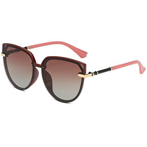 North King Sonnenbrillefrau polarisierte Katzenaugen-Retro- Sonnenbrille Sonnenbrille UV-protectio des großen Kastens