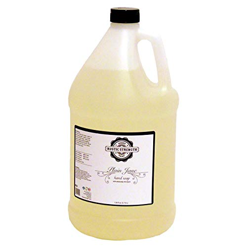 Liquid hand soap, Plain Jane, 128oz refill