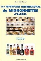 1er répertoire international de mignonnettes d'alcool