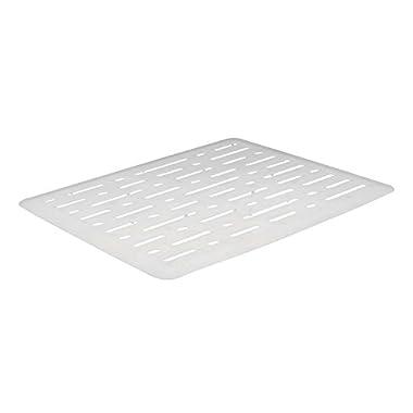 Rubbermaid Evolution Sink Mat, Small, White FG1G1706WHT