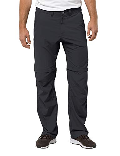 Jack Wolfskin Herren Hose Canyon Zip Off Pants, Phantom, 52, 1504191-6350052