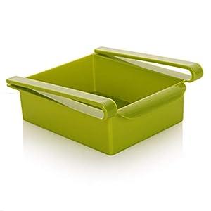 Petyoung Kühlschrank Lagerregal Schicht Trennwand Kühlschrank Lagerhalter Rack Container Aufbewahrungsbox Küchenzubehör