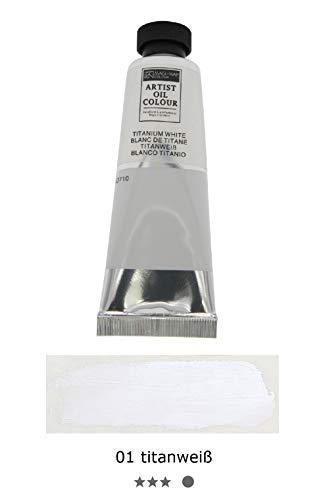 Magi® Ölfarbe, 50 ml Tube feine Künstlerqualität, hochwertige Farben zum Malen (00 30er Set