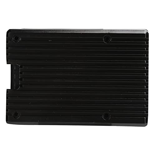 EFFACER Caja de aleación de Aluminio, Caja de aleación de Aluminio práctica Estable, Buena disipación de Calor para el hogar para la Oficina(Double Fan Metal casing)