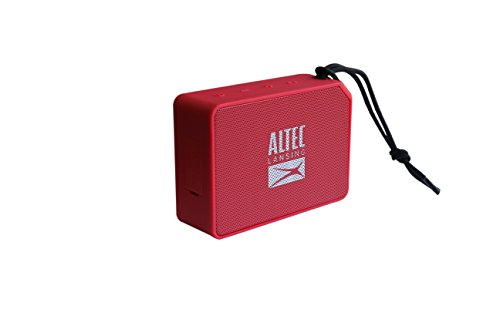 Altec Lansing AL-SNDBS2-001.141 - Altavoz portátil Bluetooth, Color Rojo