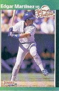 1989 Donruss Rookies #15 Edgar Martinez Near Mint/Mint