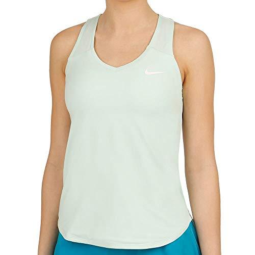 NIKE Court Team Pure Camiseta, Mujer, Marrón (Igloo/White),...