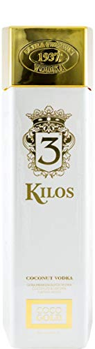 3 Kilos Gold Vodka Coconut Ultra Premium Vodka 30% Vol - 1 L