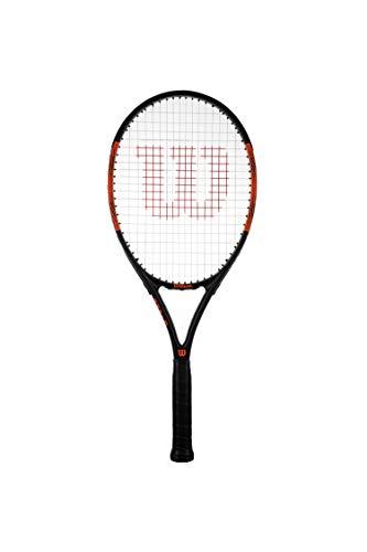 Wilson Burn Pro 105 - Racchetta da tennis per adulti (impugnature 2, 3, 4) (Grip 3 (4 3/8')