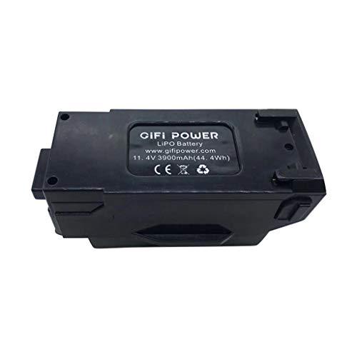 YJYdadaS 11.4V 44.4Wh 3900mAh Large Capacity Lipo Battery for Yuneec Mantis Q, Mantis G RC Drone Black