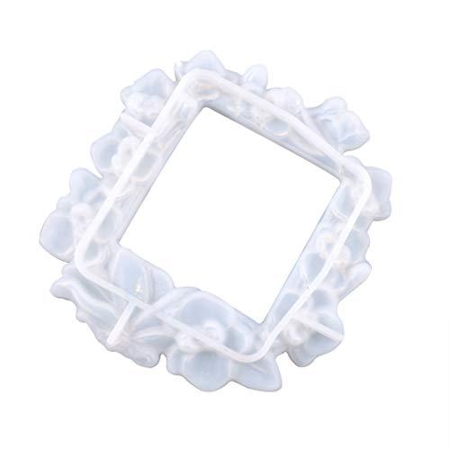 Incdnn Molde de silicona para decoración de interruptor para manualidades, herramienta de resina epoxi