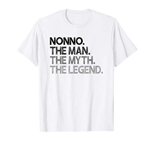 Nonno L'Uomo Il Mito Leggenda Dono Maglietta