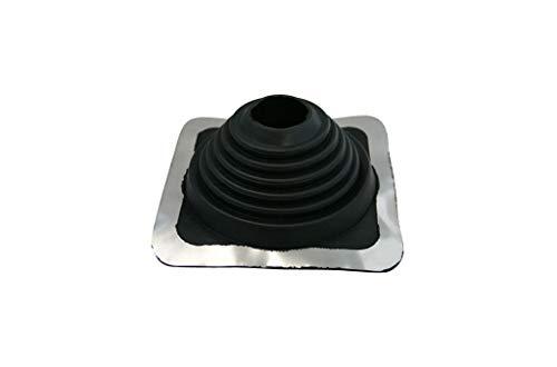 Rohrmanschette Nr. 4, EPDM Manschette für Rohrdurchführungen an Dach und Wand
