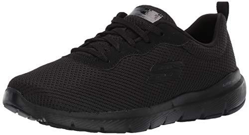 Skechers Damen Flex Appeal 3.0-First Insight Sneaker, Schwarz, 38 EU