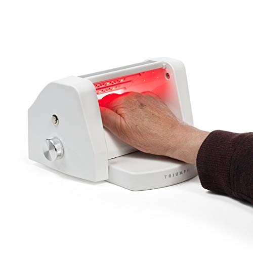 Amazing Deal Triumph LTD 880nm Infrared and 660nm Red Light Hand Therapy with Warming Vibration Mass...