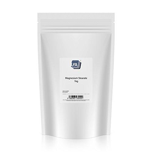 Magnesio stearato | Eccipiente per produzione di compresse | Legante di grado farmaceutico, 1KG