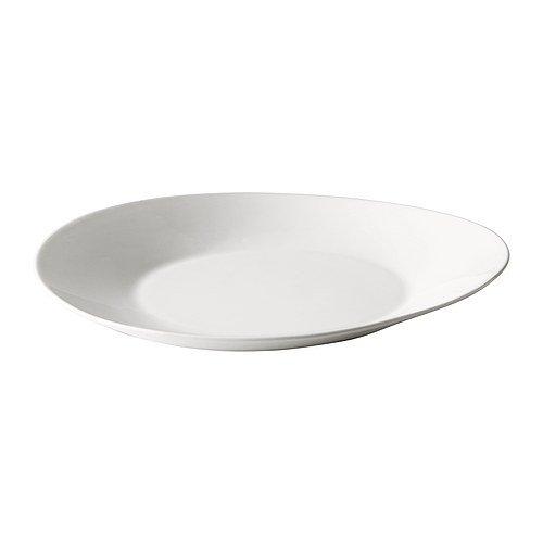 IKEA SKYN -Teller weiß / 2 Stück - 28 cm