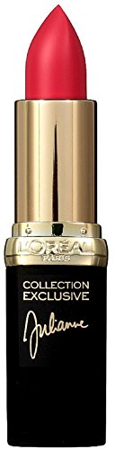 L'Oreal Paris Colour Riche Collection Exclusive Reds, Julianne's Red [401] 0.13 oz (Pack of 2)