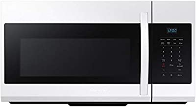 Samsung 1.7 Cu. Ft. White Over-The-Range Microwave