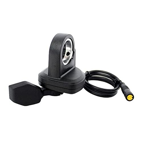 WULE Thumb Throttle Fit para el Acelerador eléctrico de la Bicicleta 3pin Fit para Bafang BBS01 BBS02 BBSHD (Color : Left)
