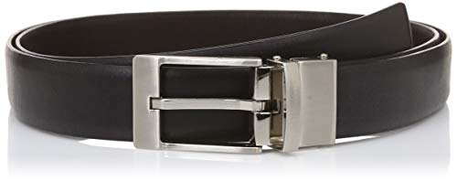 Hidesign Men's Belt (8903439491765_Black Brown_42)