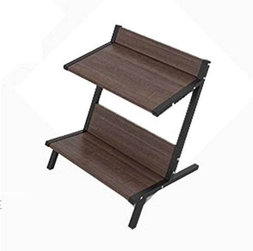 Mesa de centro De sobremesa y portátiles de metal marco de la TV tablas bandeja de madera sala de estar oficina en casa mesa de centro multifuncional mesa de comedor mesa plegable Tablas de café peque