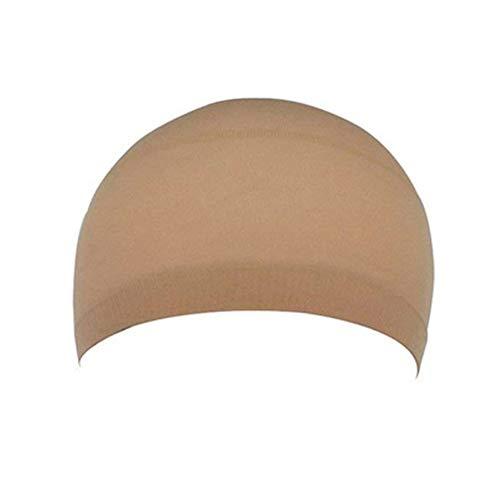 Tyrrdtrd Lot de 2 bonnets de perruque unisexe élastique en nylon respirant