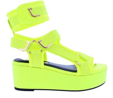 cute green color summer sandals
