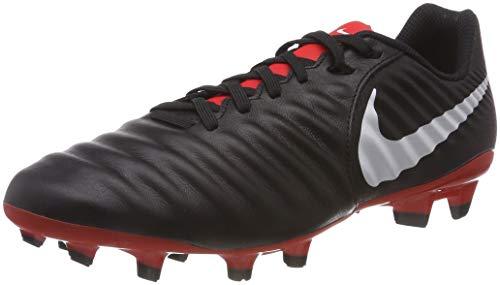 Nike Legend 7 Academy FG, Zapatillas de Fútbol para Hombre, Negro (Black/Pure Platinum/Lt Crimson 006), 39 EU